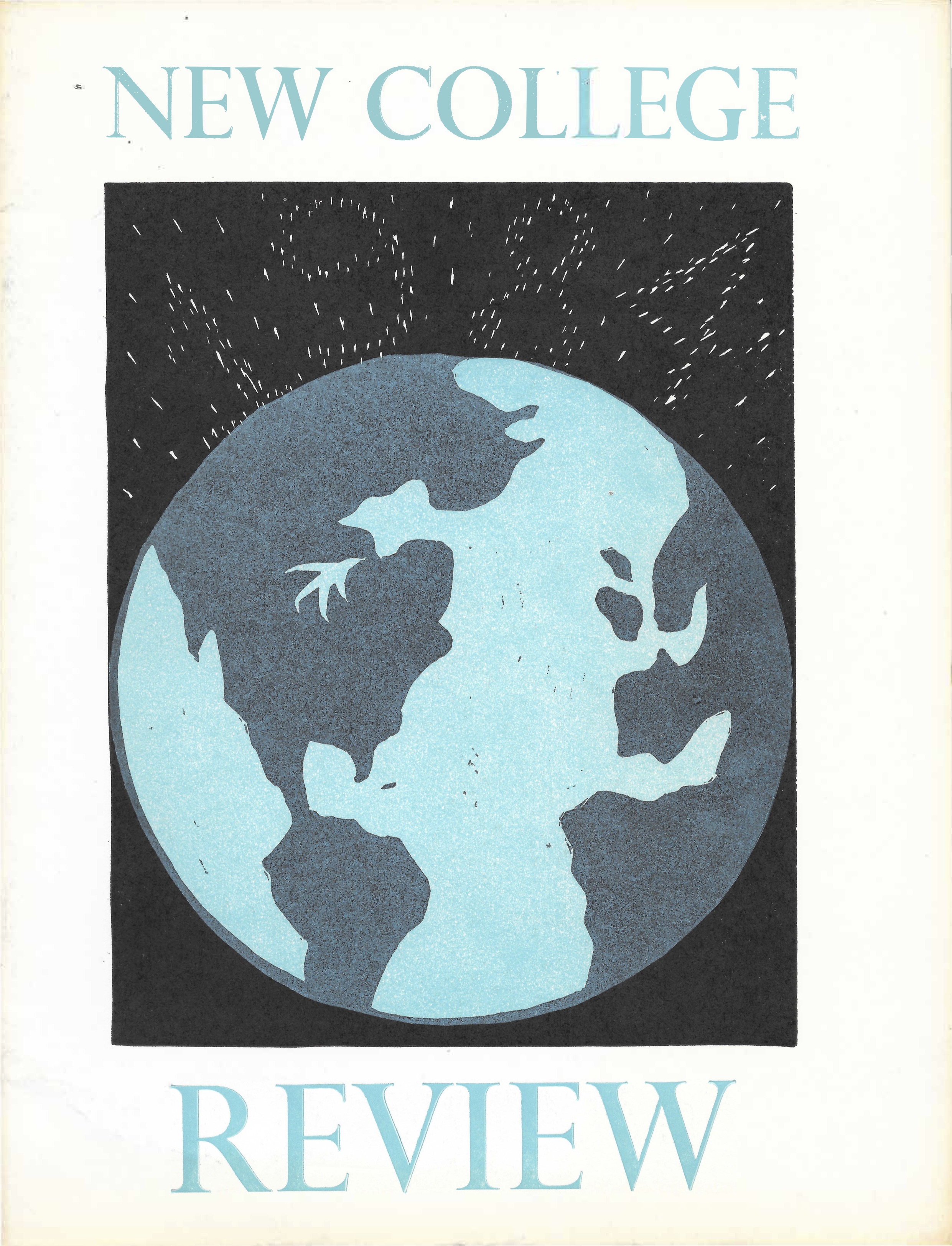 cover of New College Review 1984 issue